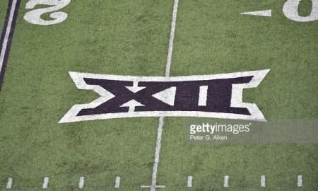 big 12 logo football game