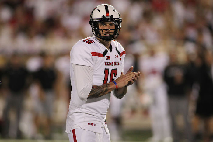 NCAA Football: Arizona State at Texas Tech