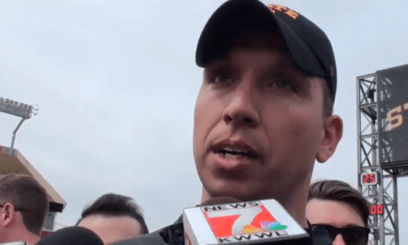 matt campbell iowa state spring game
