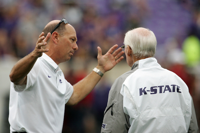 NCAA Football: Oklahoma at Kansas State