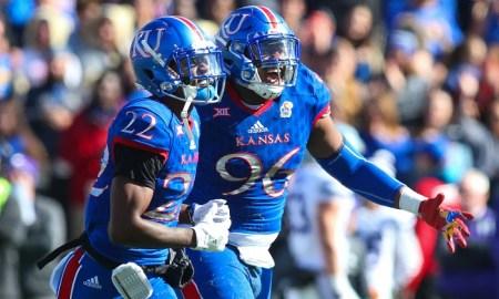 NCAA Football: Kansas State at Kansas
