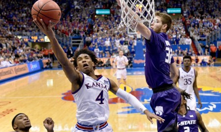 NCAA Basketball: Kansas State at Kansas