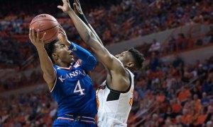 NCAA Basketball: Kansas at Oklahoma State