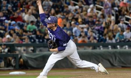 NCAA Baseball: College World Series-Florida vs TCU