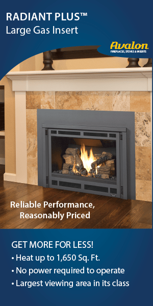 Avalon Radiant Plus Gas Insert