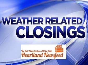 closings closures cancellations