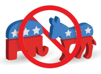 Democrat Republican political parties
