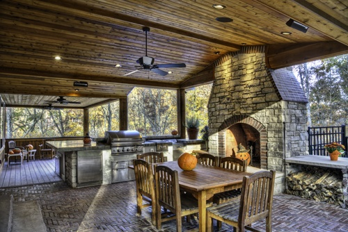 Outdoor Kitchen Areas Grilling Area Bbq Fireplaces