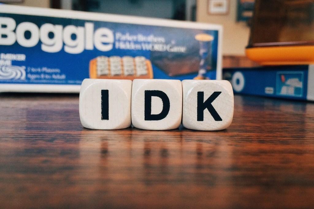 IDK Acronyms