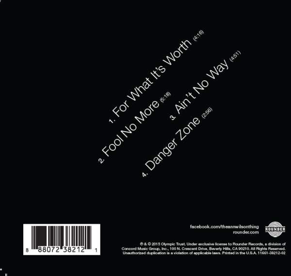 The Back of the CD