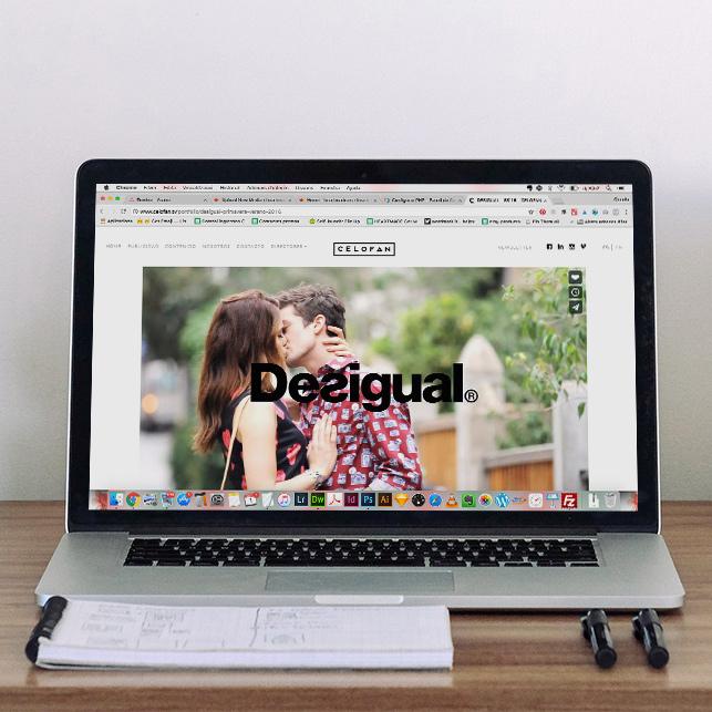 Video Portfolio Website design for Celofan.tv by Heartmade.es - design for happiness