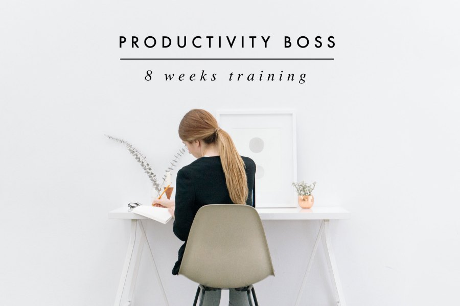 Discover my Productivity Formula and learn how to do more in less time. Be ready to commit for a healthier and happier work life