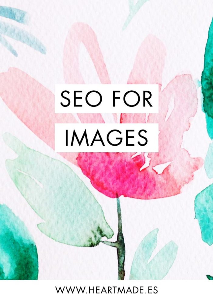 Easy SEO for images steps that you need to follow every time you upload a new picture to your website! I teach this to all my clients because we really need to help Google and Pinterest knowing what our images are talking about