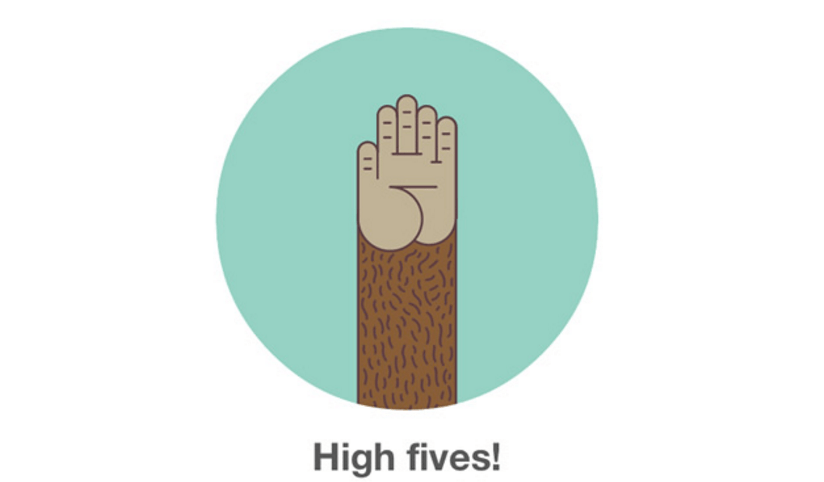 Mailchimp High Five