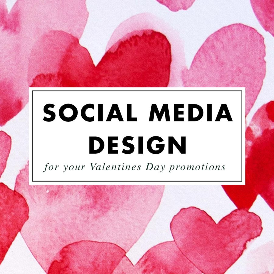 Valentines Day promotional images - Custom Design by Claudia Orengo from Heartmade.es - Design for Happiness