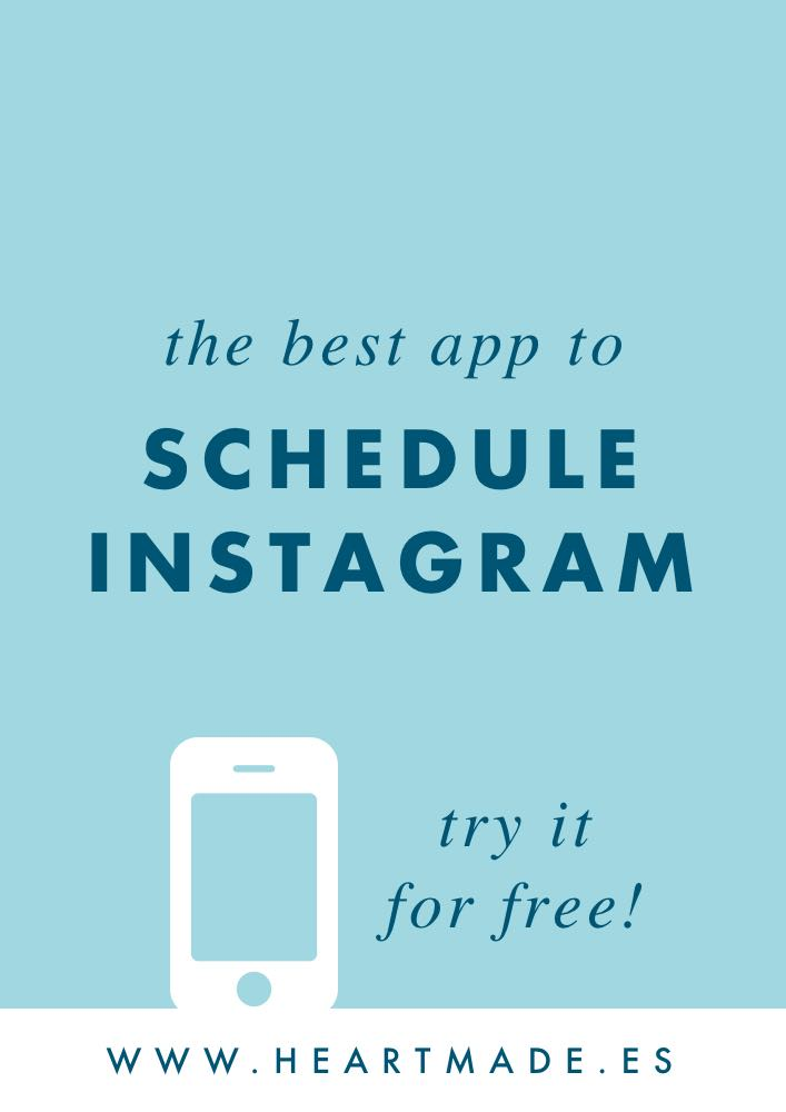 Last year I decided to give a try to other popular apps but I ended up realizing that the best tool to schedule Instagram is Viraltag.