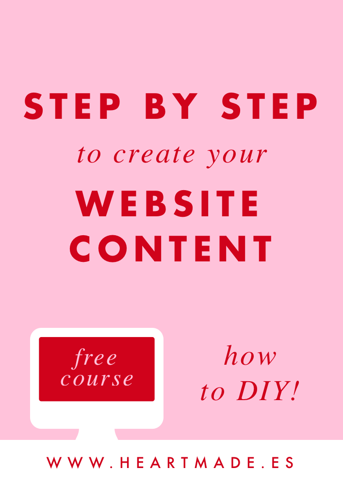 If you feel you need help creating your website content, you need to read this!!