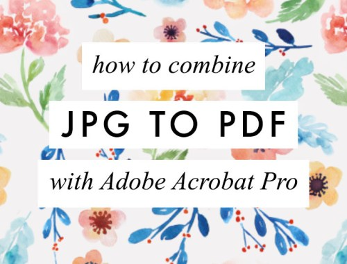 JPG to PDF? In this video tutorial, I'm answering the following question: How can I combine multiple jpg into a new PDF document?