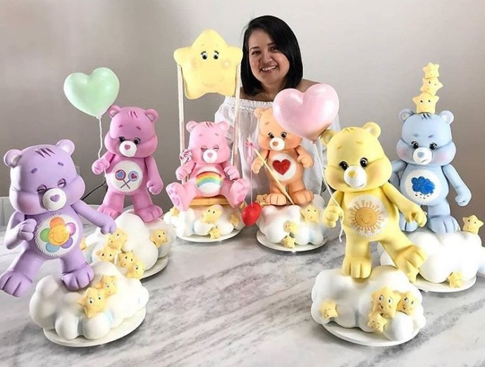 care bears - Fondant Character Ideas