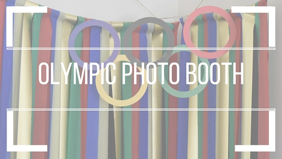 Corner Photo Booth: Olympic Edition