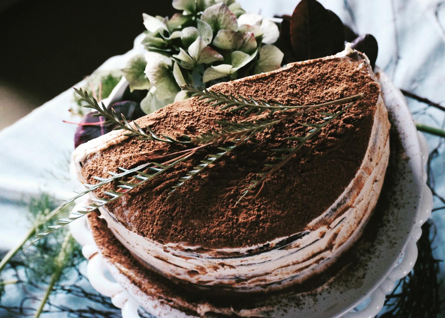Tiramisu Cake Half Birthday Celebrations Heart Of Celebration