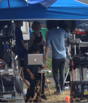 I Saw Carrie Brownstein Filming Portlandia