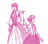 Queen Alice and Alice (?)
