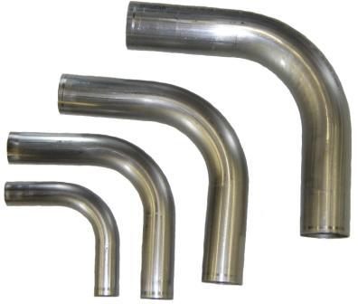 car truck exhaust pipes tips 2 1 2 60 degree aluminized mandrel bend 16ga 1d tight 2 5 clr exhaust tubing auto parts accessories