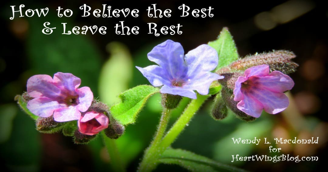 How to Believe the Best and Leave the Rest