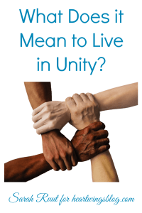 Christians are called to unity. But what does it mean to live in unity? What does that even look like?