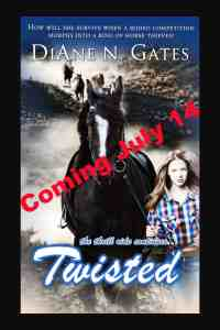 Twisted, the newest in DiAne Gate's Roped series