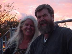 Ron & Caryl McAdoo, high school sweethearts, married almost fifty years now