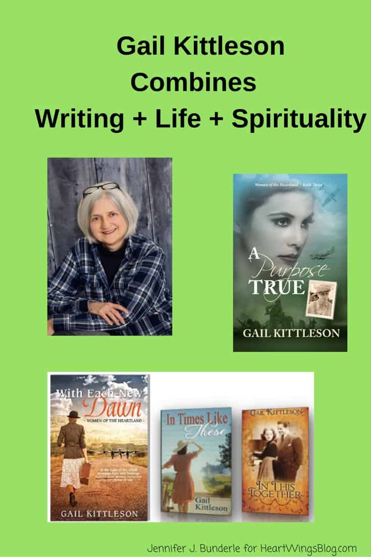 Gail Kittleson shares about her personal success with combining her writing, life and spirituality on HeartWings Blog.
