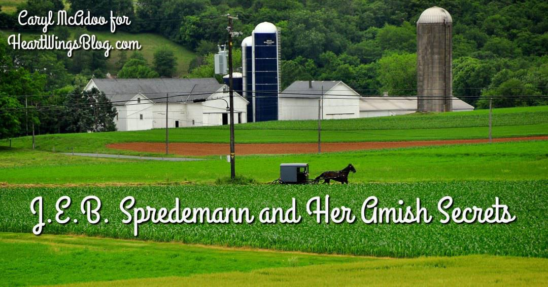 J.E.B. Spredemann and Her Amish Secrets with Giveaway