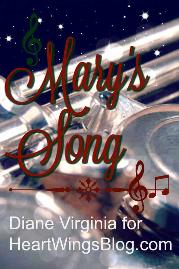 A flutist played Mary's Song and touched Diane Virginia. He and Mary have a Spirit song in common at HeartWings Blog.