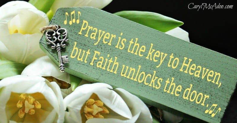 Caryl McAdoo has something to say about how Your Prayers Mean So Much at HeartWingsBlog.com