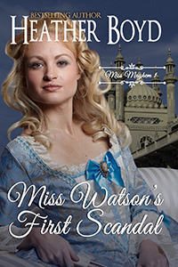 Miss Watson's First Scandal Cover Image