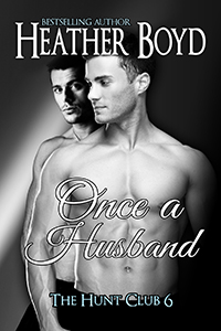 hunt club series Once a Husband book cover