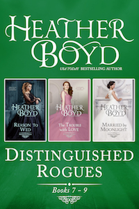 Distinguished Rogues books 7-9 book cover image