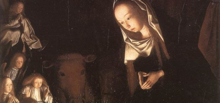 NATIVITY AT NIGHT Geertgen tot Sint Jans Early Netherlandish painting, c. 1490