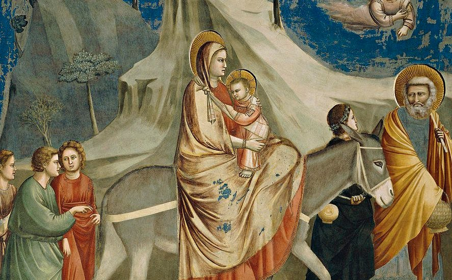 FLIGHT INTO EGYPT, GIOTTO, c. 1305