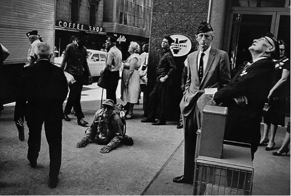 """American Legion Convention, Dallas, Texas"" GARRY WINOGRAND, 1964"