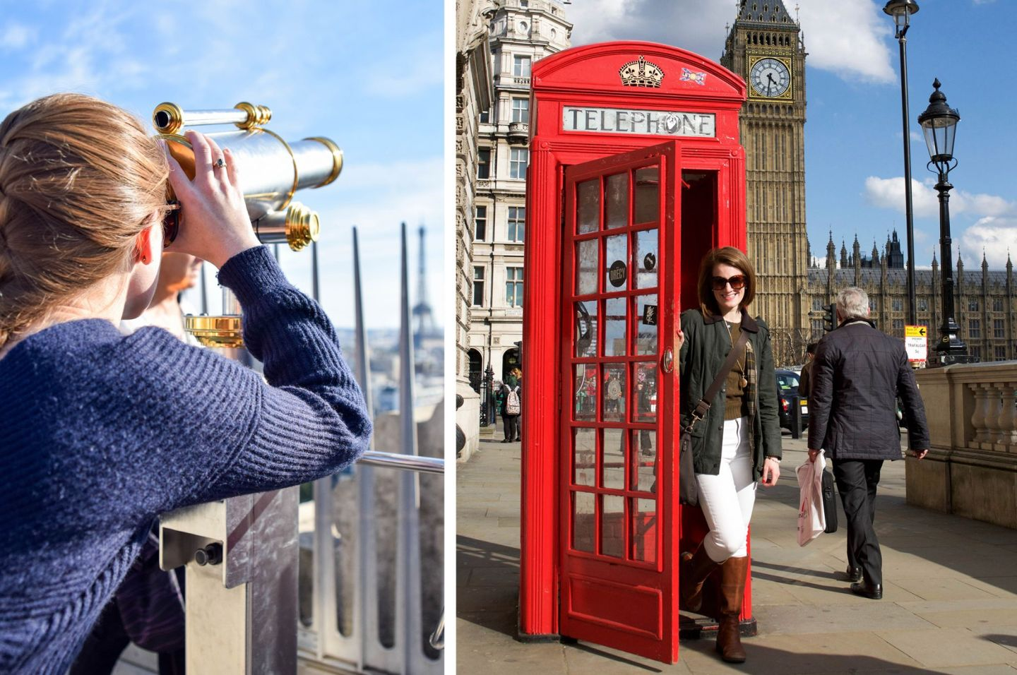 how i learned to love travel - learn to love travel - travel abroad - wanderlust - arc de triomphe - big ben - red telephone in london