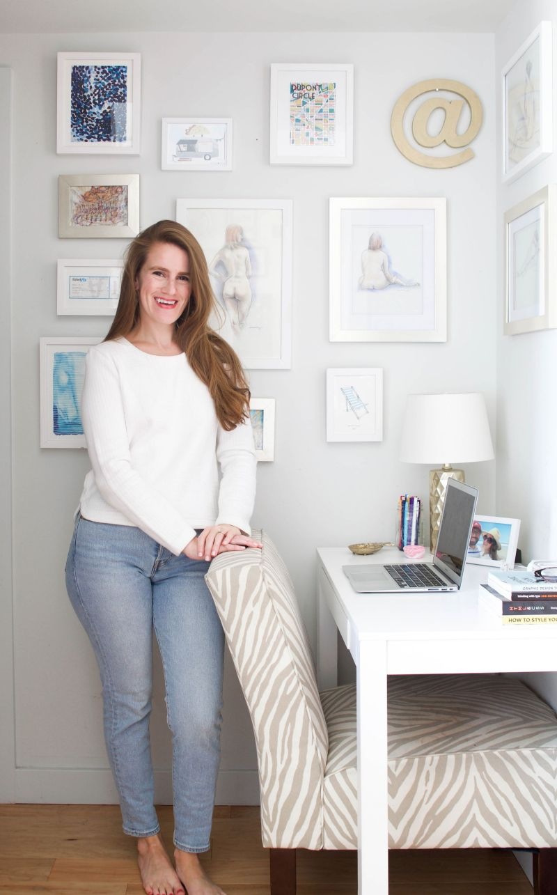 How to Create a Feminine Gallery Wall
