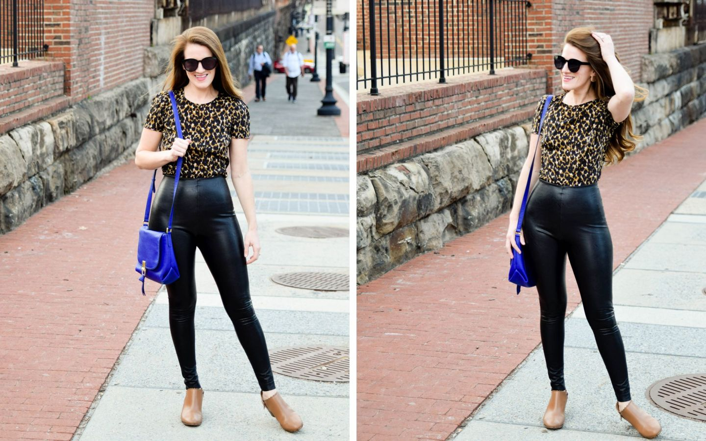 get cheap professional design search for best The Best Faux Leather Leggings: Spanx v. Commando - Heather Bien