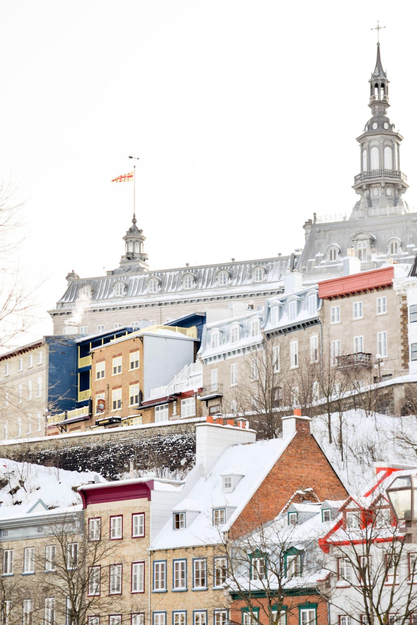 winter weekend in québec city - old québec
