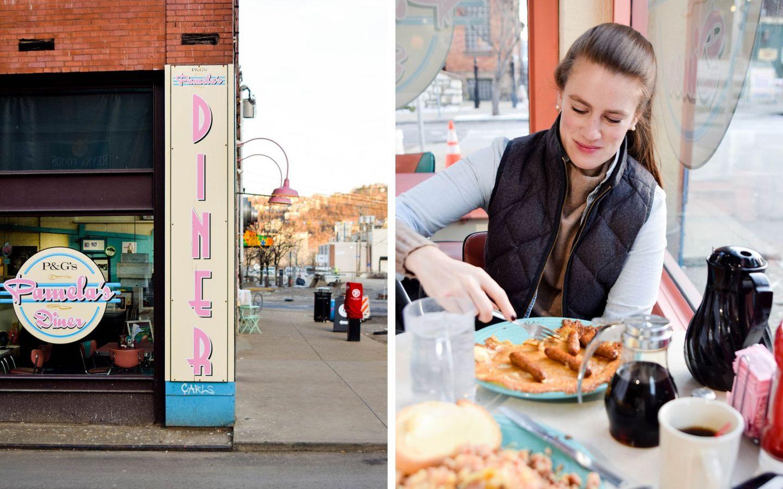 weekend in pittsburgh - pittsburgh travel guide - pamela's diner