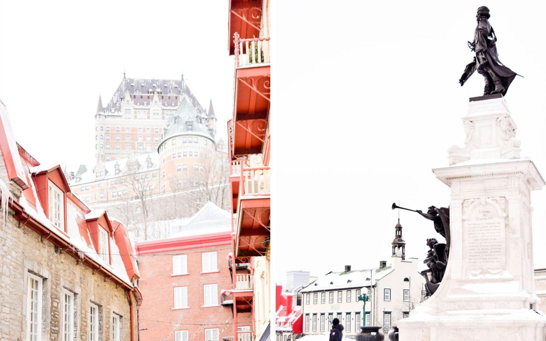 winter weekend québec city - old québec