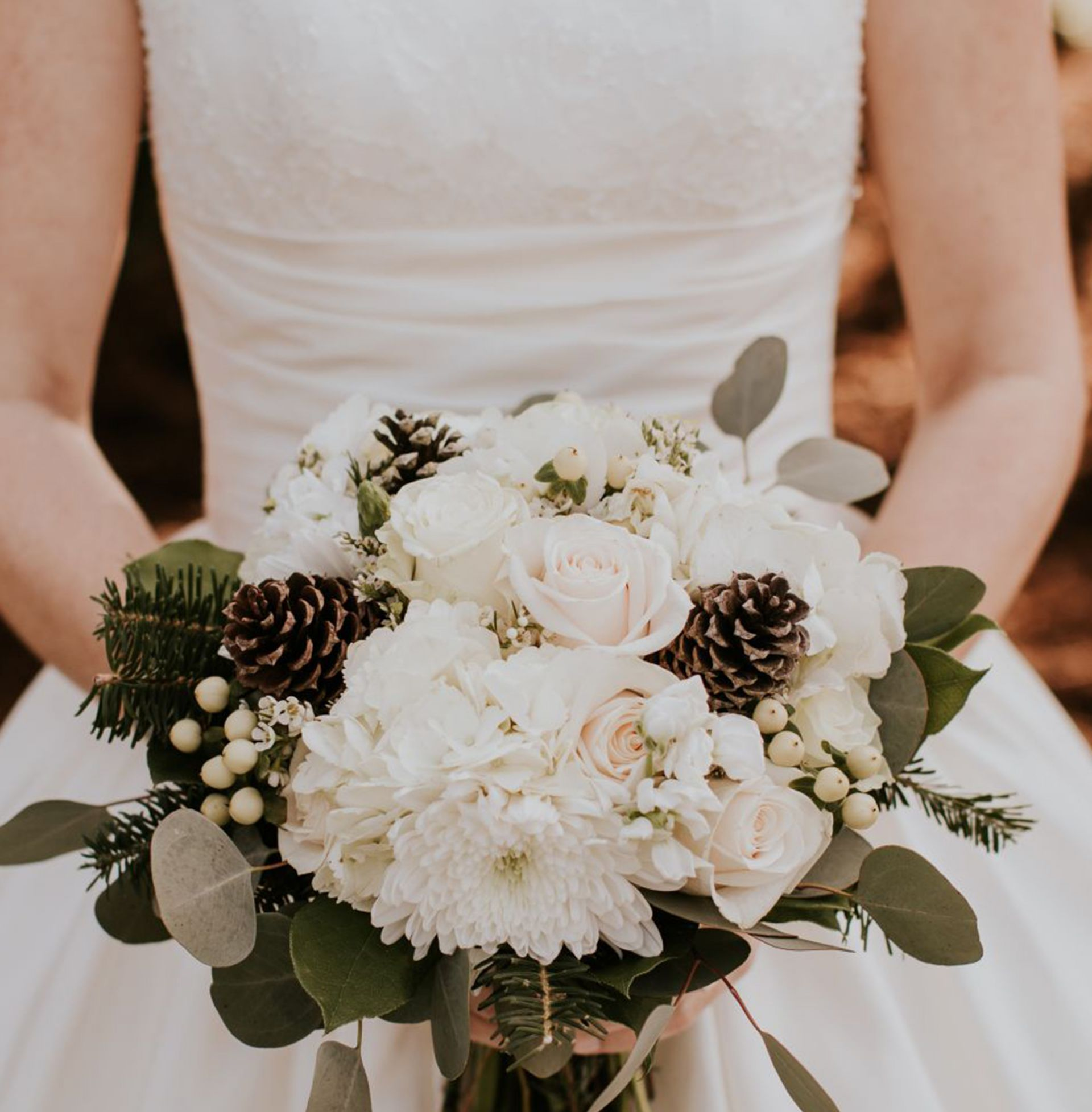All About Our Winter Wedding Flowers Heather Bien