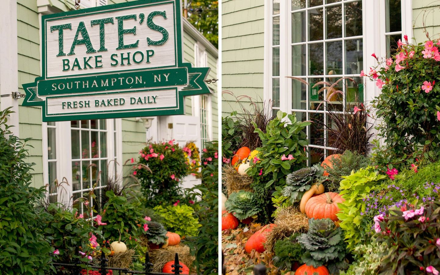 fall in the hamptons - tate's bake shop southampton